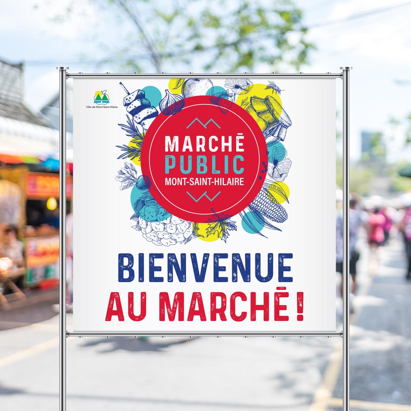 affiche marché public mont-saint-hilaire